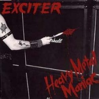 [Exciter Heavy Metal Manaic Album Cover]