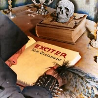 [Exciter New Testament Album Cover]