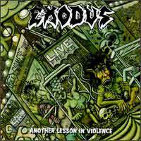 Exodus Another Lesson in Violence Album Cover