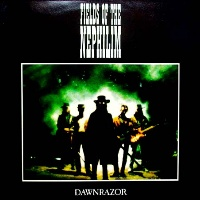 [Fields of the Nephilim Dawnrazor Album Cover]