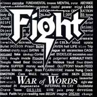 [Fight War Of Words Album Cover]