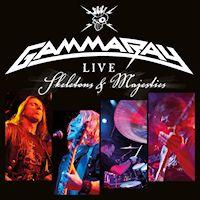 Gamma Ray Live - Skeletons and Majesties Album Cover
