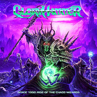 [Gloryhammer Space 1992: Rise Of The Chaos Wizards Album Cover]
