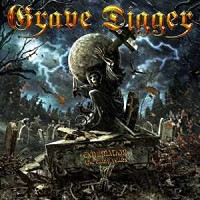 [Grave Digger Exhumation - The Early Years Album Cover]
