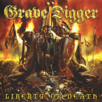 [Grave Digger Liberty Or Death Album Cover]