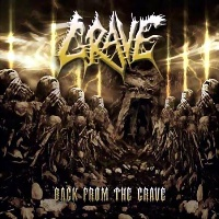 [Grave Back from the Grave Album Cover]