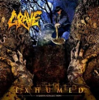 [Grave Exhumed - A Grave Collection Album Cover]