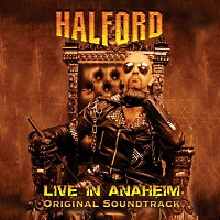 Halford Live in Anaheim Album Cover