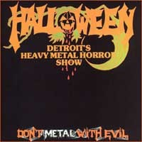 [Halloween Don't Metal With Evil Album Cover]