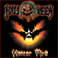 [Halloween Horror Fire Album Cover]