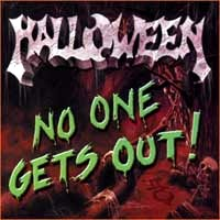 [Halloween No One Gets Out! Album Cover]