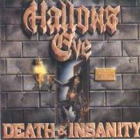 Hallows Eve Death And Insanity Album Cover