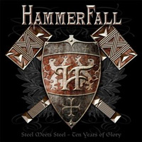[Hammerfall Steel Meets Steel - Ten Years Of Glory Album Cover]
