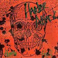 Harter Attack Human Hell Album Cover