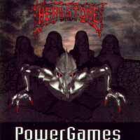 [Headstone Epitaph Power Games Album Cover]