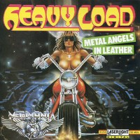 [Heavy Load Metal Angels in Leather Album Cover]