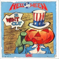 Helloween I Want Out - Live Album Cover