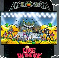 [Helloween Live In The U.K. Album Cover]