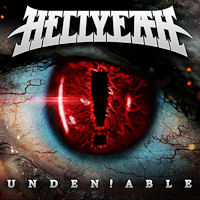 [HellYeah Undeniable Album Cover]
