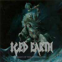 Iced Earth Night Of The Stormrider Album Cover