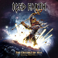 Iced Earth The Crucible Of Man: Something Wicked Part 2 Album Cover