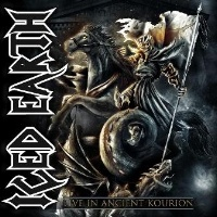 Iced Earth Live in Ancient Kourion Album Cover