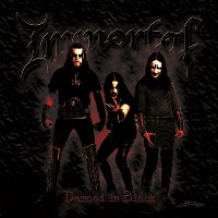 [Immortal Damned in Black Album Cover]