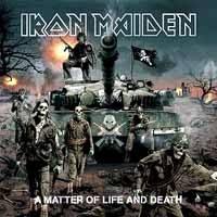 [Iron Maiden A Matter of Life and Death Album Cover]