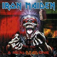 [Iron Maiden A Real Dead One Album Cover]