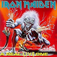 [Iron Maiden A Real Live One Album Cover]