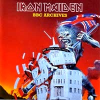 [Iron Maiden BBC Archives Album Cover]