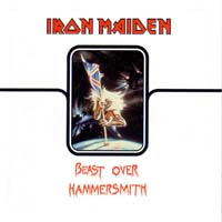 [Iron Maiden Beast Over Hammersmith Album Cover]