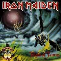 [Iron Maiden Flight of Icarus / The Trooper Album Cover]