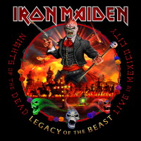 [Iron Maiden Nights of the Dead - Legacy of the Beast - Live in Mexico City Album Cover]