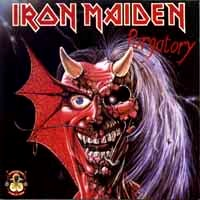 [Iron Maiden Purgatory / Maiden Japan Album Cover]