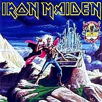[Iron Maiden Running Free / Run to the Hills Album Cover]