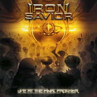 [Iron Savior Live At The Final Frontier Album Cover]