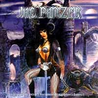 [Jag Panzer Decade of the Nail-Spiked Bat Album Cover]