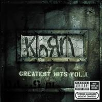 [Korn Greatest Hits Vol. 1 Album Cover]