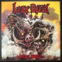 [Lady Beast Vicious Breed Album Cover]