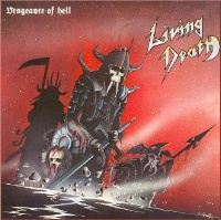 Living Death Vengeance of Hell Album Cover