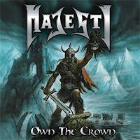 [Majesty Own The Crown Album Cover]
