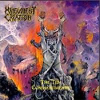 [Malevolent Creation The Ten Commandments Album Cover]