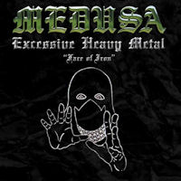 [Medusa Face Of Iron  Album Cover]