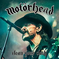 [Motorhead Clean Your Clock Album Cover]