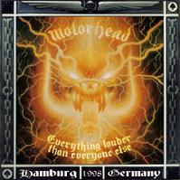 [Motorhead Everything Louder Than Everyone Else Album Cover]