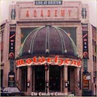 [Motorhead Live at Brixton Academy Album Cover]