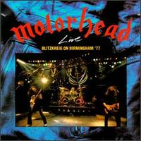 [Motorhead Live - Blitzkreig on Birmingham '77 Album Cover]