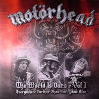[Motorhead The World Is Ours - Vol. 1 Album Cover]