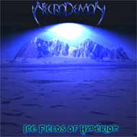 [Necrodemon Ice Fields Of Hyperion Album Cover]